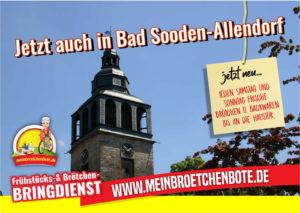 NEU! Samstags & Sonntags Liefern wir auch nach Bad Sooden-Allendorf